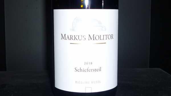 """Markus Molitor """"Schiefersteil"""" Riesling trocken 2019"""