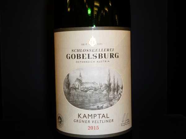 Schloss Gobelsburg Grüner Veltliner Kamptal 2018