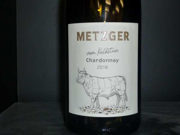 Metzger Chardonnay vom Kalkstein 2018