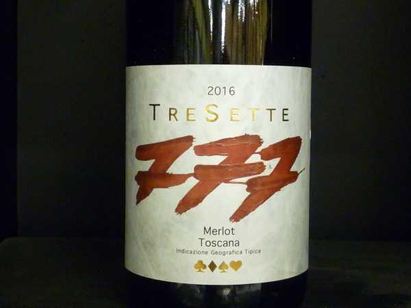 Riecine Tresette Merlot Toscana IGT 2016