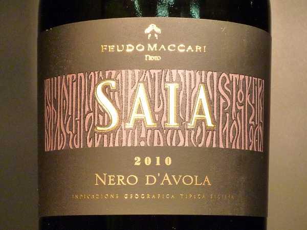 Feudo Maccari Saia Nero d´Avola 2016