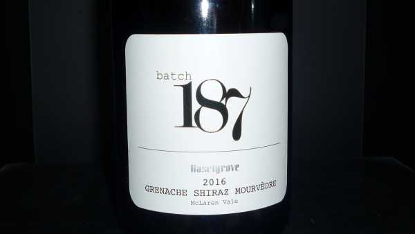 Haselgrove Batch 187 GSM 2016 -Restmenge-