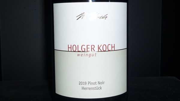 Holger Koch Pinot Noir Herrenstück 2019