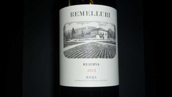 Remelluri Reserva 2013