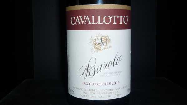 Cavalotto Barolo Bricco Boschis 2016