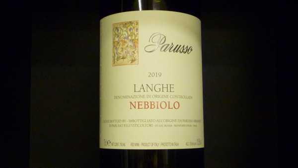 Nebbiolo Langhe Parusso 2019
