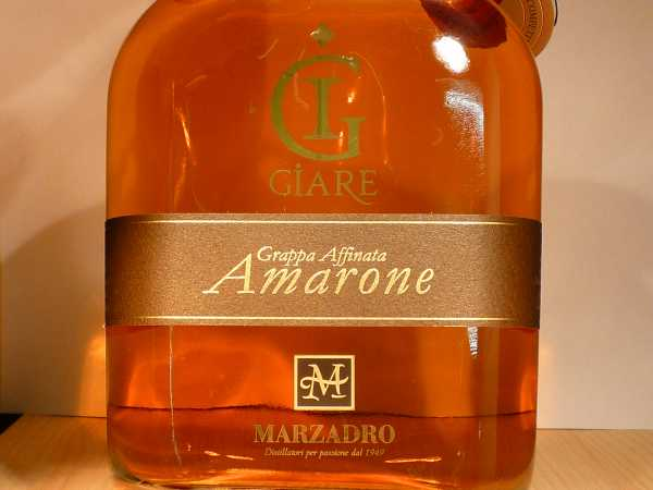 Marzadro Grappa Affinata Amarone 0,7 l