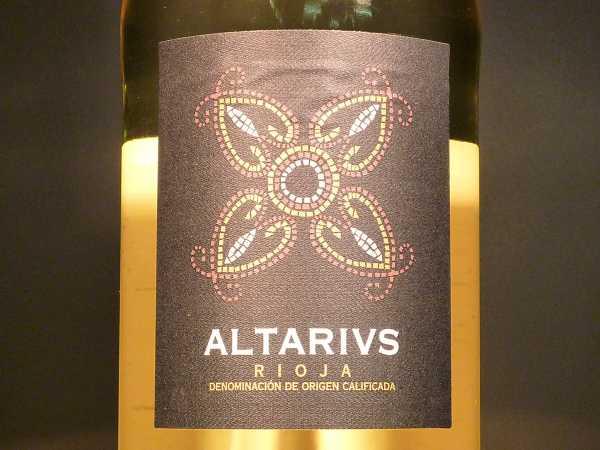 Altarius Rioja blanco 2015
