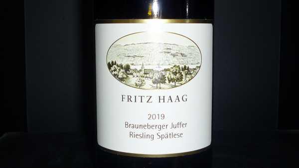 Fritz Haag Brauneberger Juffer Riesling Spätllese 2019