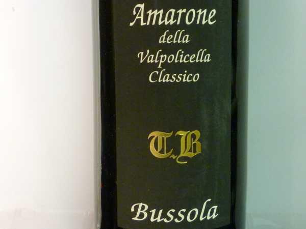 Bussola Amarone Classico TB 2010