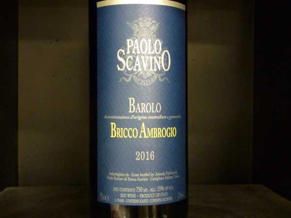 "Paolo Scavino ""Bricco Ambrogio"" Barolo DOCG 2016"