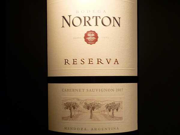 Norton Cabernet Sauvignon Reserva Mendoza 2013