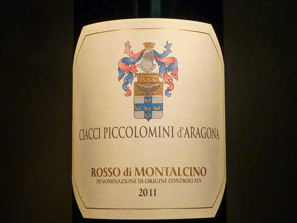 Rosso di Montalcino Ciacci Piccolomini d´Aragona 2013