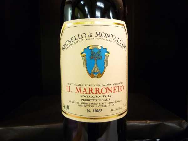 Il Marroneto Brunello di Montalcino 2013 (Restmenge)
