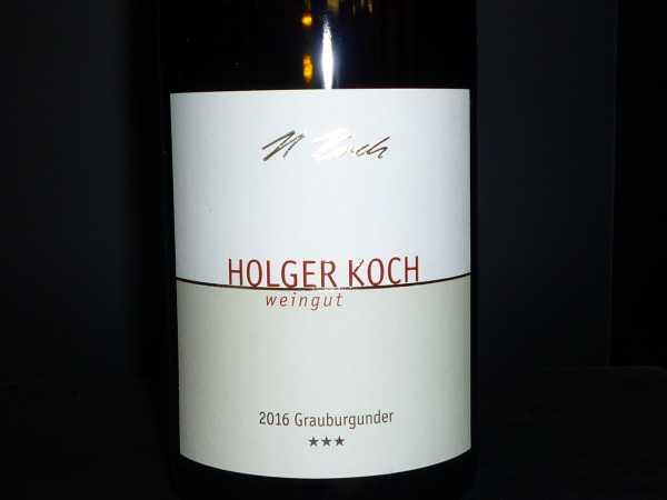 Holger Koch Grauburgunder *** Selection2016