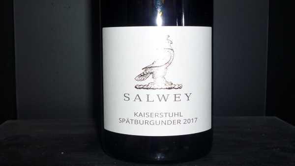 Salwey Kaiserstuhl Spätburgunder Gutswein 2017 tr.
