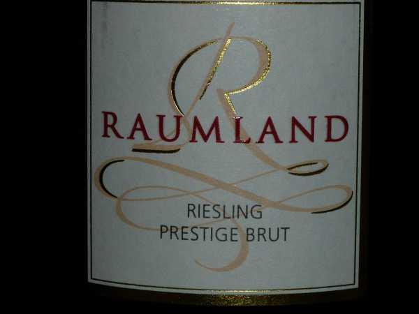 Raumland Riesling Prestige Brut Sekt