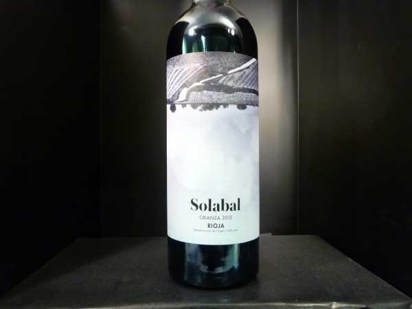Solabal Crianza Rioja Alta Bodegas y Vinedos Solabal 2015