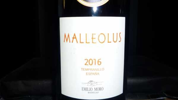 Emilio Moro Malleolus 2017 -Restmenge-