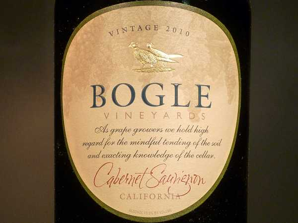 Bogle Vineyards Cabernet Sauvignon California 2016