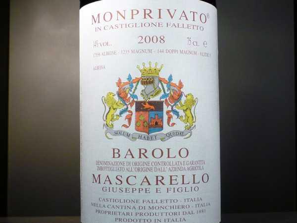 """Barolo Mascarello """"Monprivato"""" 2012 ** limitiert**"""