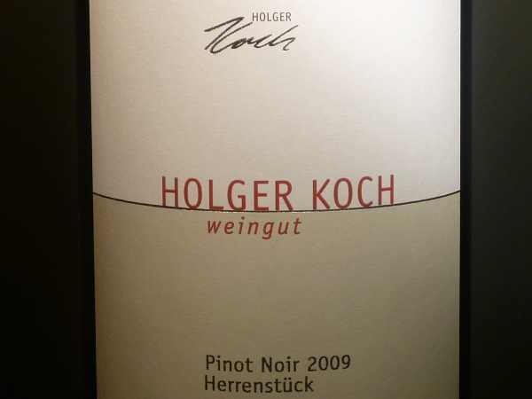 Holger Koch Pinot Noir Herrenstück 2017