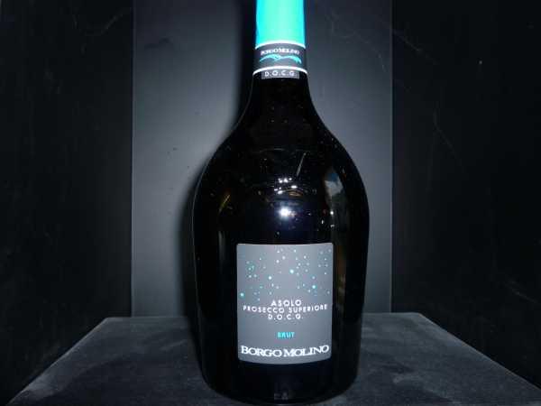 Borgo Molino Asolo Prosecco Superiore extra dry Vino Spumante, Valdobbiadene DOCG