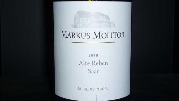 """Markus Molitor """"Alte Reben Saar"""" Riesling trocken 2019"""