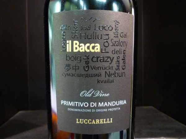Primitivo di Manduria Il Bacca Luccarelli Old Vines 2016