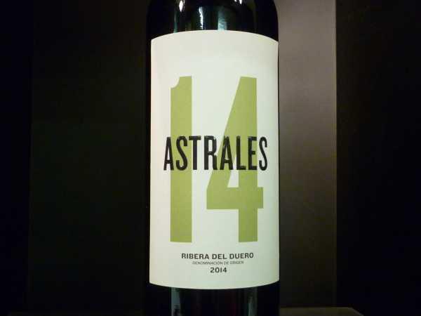 Astrales Ribera del Duero 2014