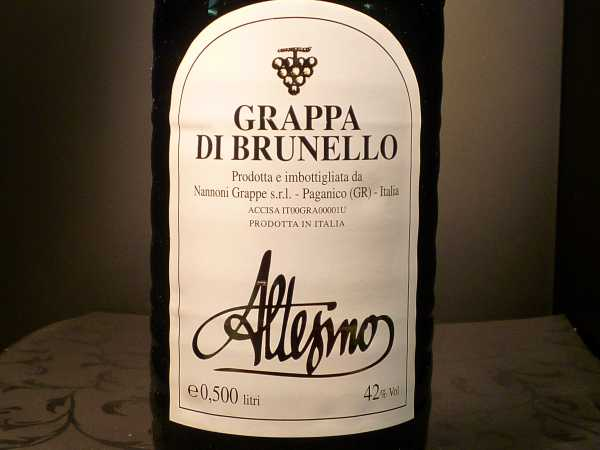 Altesino Brunello Grappa