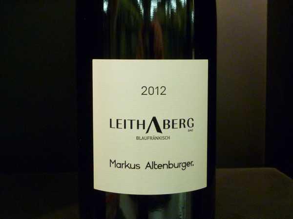 Altenburger Leithaberg DAC Blaufränkisch 2012