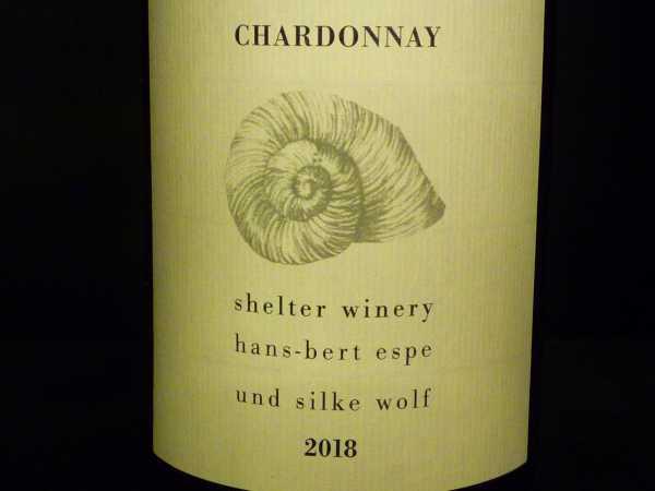 Shelter Winery Chardonnay 2018 Kenzingen