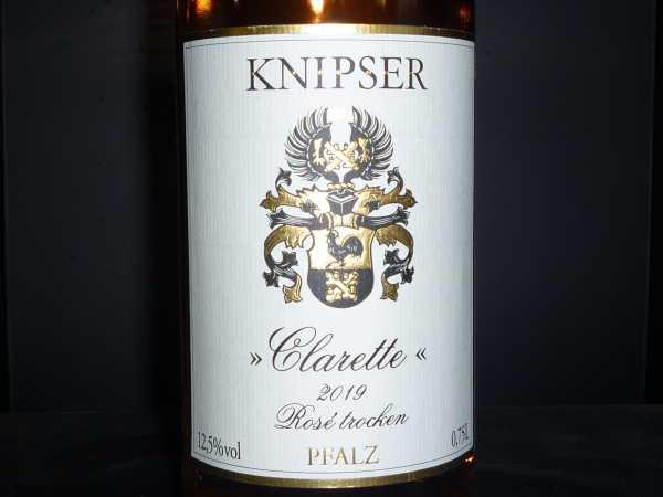 Knipser Rosé Clarette 2019
