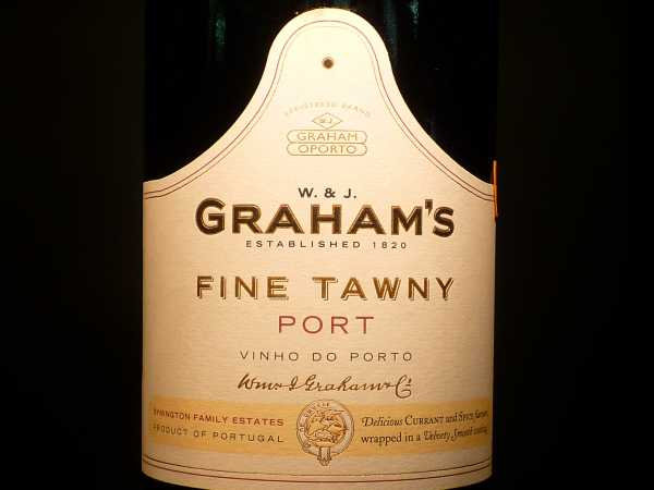 W. & J. Graham´s Fine Tawny Port