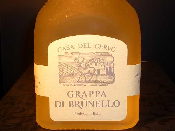 Casa d.Cervo Grappa Brunello