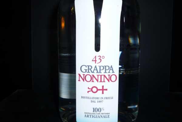 Nonino Friulana 43° Klares Destillat