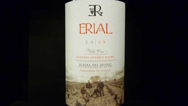 Erial Bodegas Epifanio Rivera Ribera del Duero 2019