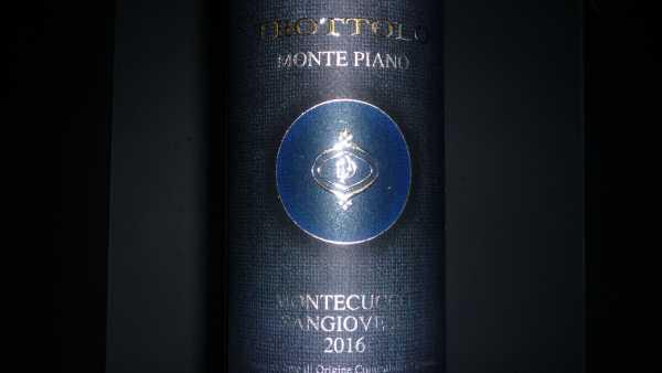 Trottolo Sangiovese Monte Piano 2017