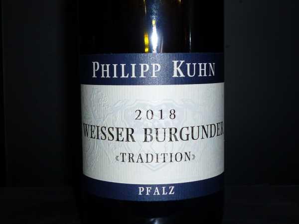 Philipp Kuhn Weisser Burgunder Tradition trocken 2019