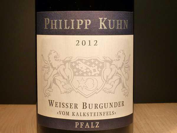 Philipp Kuhn Weisser Burgunder vom Kalksteinfels 2018