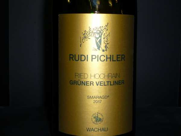 Rudi Pichler Grüner Veltliner Smaragd Ried Hochrrain 2017