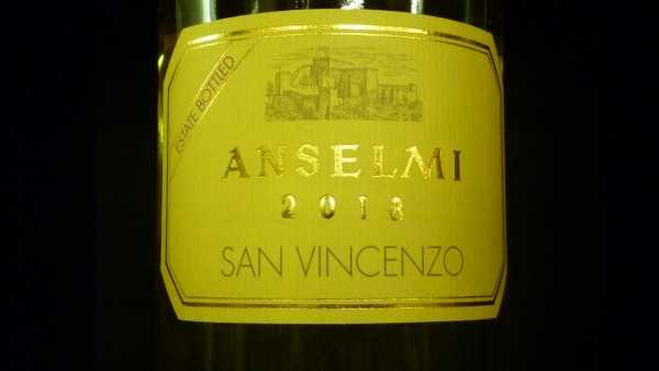 Anselmi San Vincenzo Veneto bianco 2018
