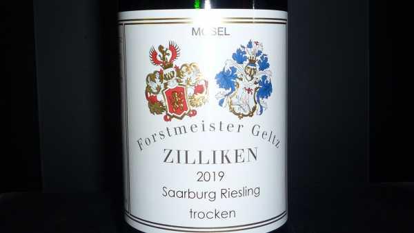 Forstmeister Geltz Zilliken Saarburger Riesling trocken 2019