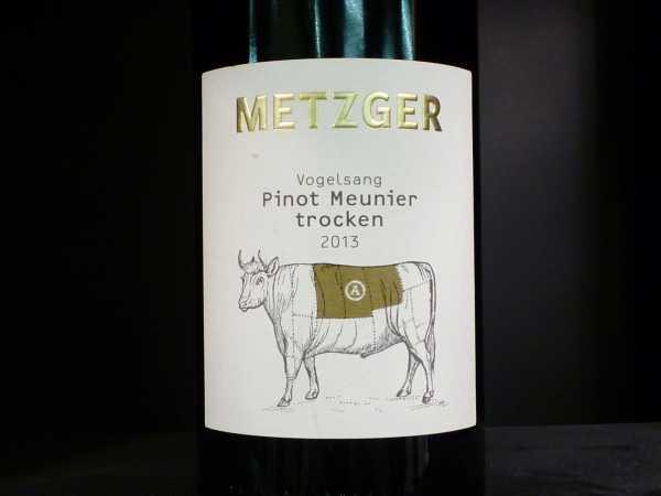 Metzger Vogelsang Pinot Meunier 2013