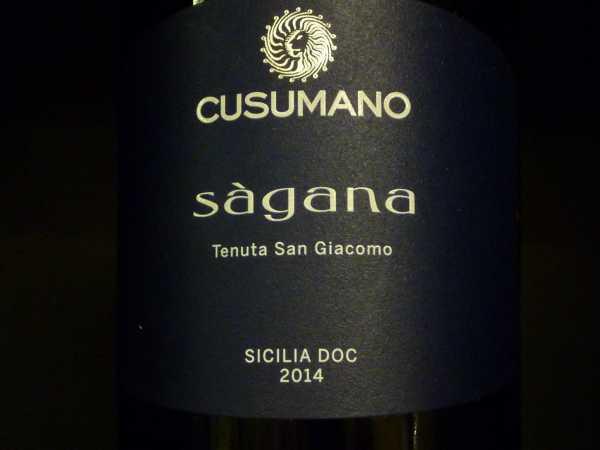 Cusumano Ságana Sicilia 2014 -Restmenge-