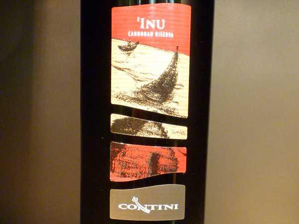 Contini Inu Cannonau Riserva Sardegna 2016