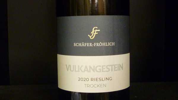 Schäfer-Fröhlich Riesling Vulkangestein Trocken 2020
