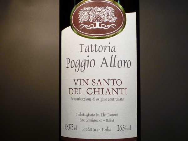 Poggio Alloro Vin Santo del Chianti 0,375 l