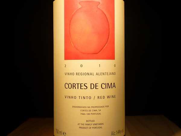 Cortes de Cima Vinho regional Alentejano 2015